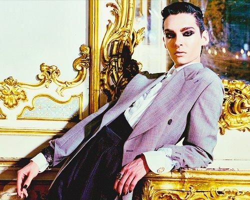 """grammy.com: """"Bill Kaulitz: uno de los hombres más sexys del mundo de la música"""" 282632_368752303190002_431684606_n"""