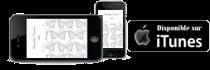 Disponible sur iTunes pour iPhone, iPad, iPod touch et Mac