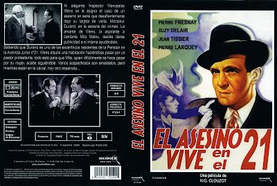 Cover, dvd, caratula: El asesino vive en el 21
