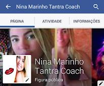 PÁGINA NINA MARINHO NO FACEBOOK