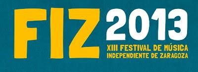 FIZ 2013 HORARIOS FESTIVAL