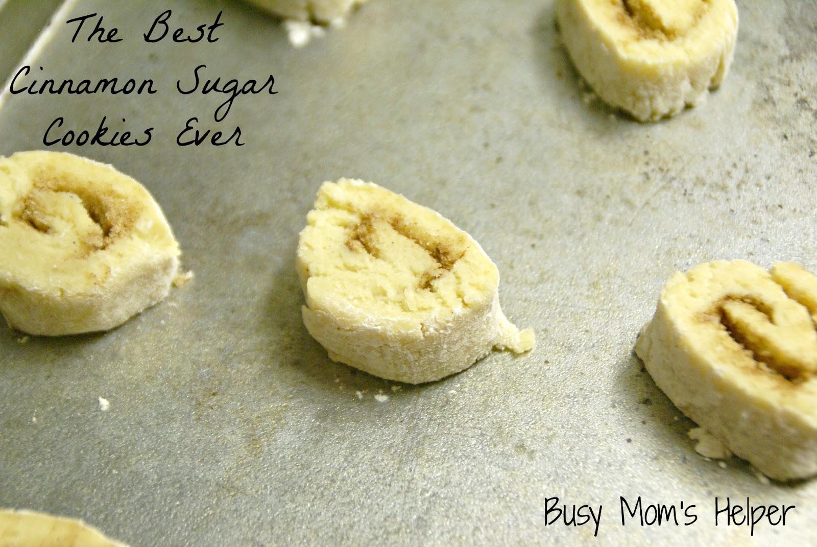 The Best Cinnamon Sugar Cookies Ever - Busy Moms Helper