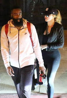 Khloe K tries to disguise as she leaves dinner date with James Harden
