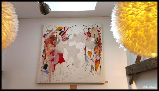 Tableaux heven Boulogne 92 Neila Serrano