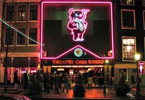 sex show in Amsterdam,