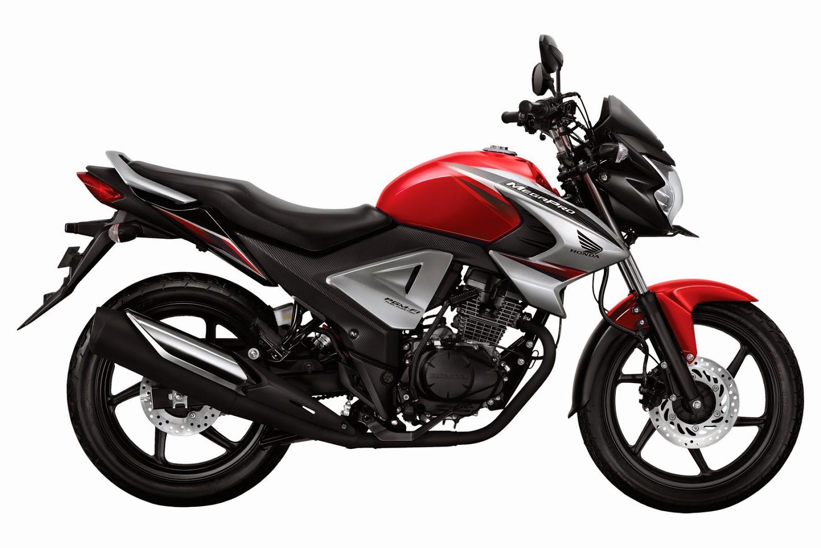 Spesifikasi Honda CB 150 R Vs New Honda Mega Pro