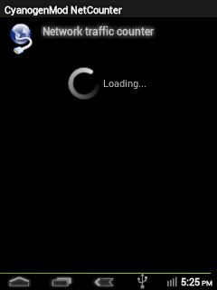 CyanogenMod NetCounter App