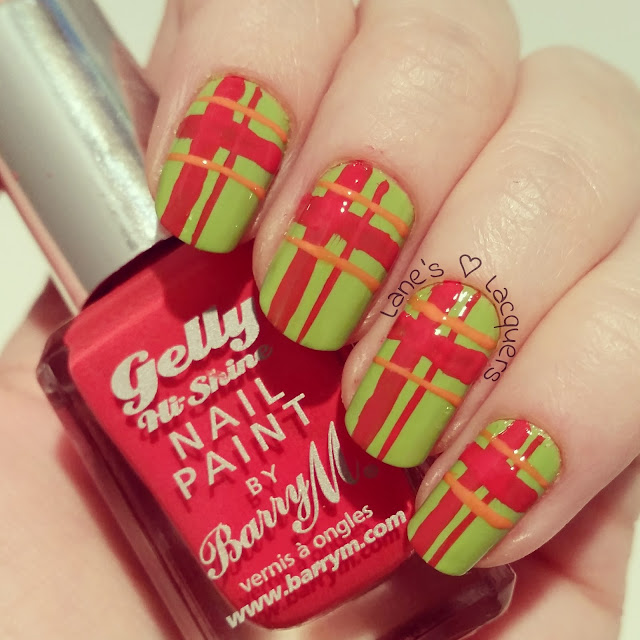 barry-m-gelly-green-red-plaid-nail-art (2)