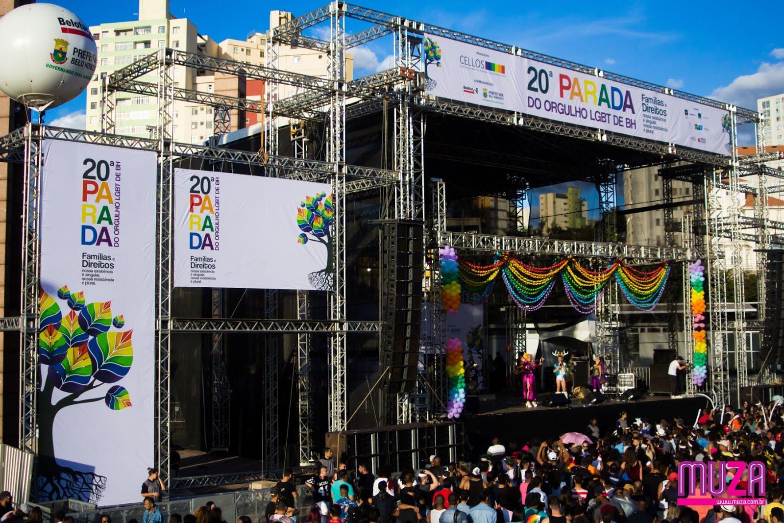 Saiba como foi a Parada do Orgulho LGBT de Belo Horizonte 2017