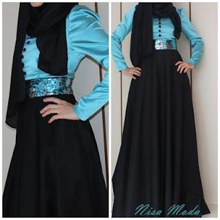 nisa moda 2014 tesett%C3%BCr Elbise modelleri37 nisamoda 2014, 2013 2014 sonbahar kış nisamoda tesettür elbise modelleri