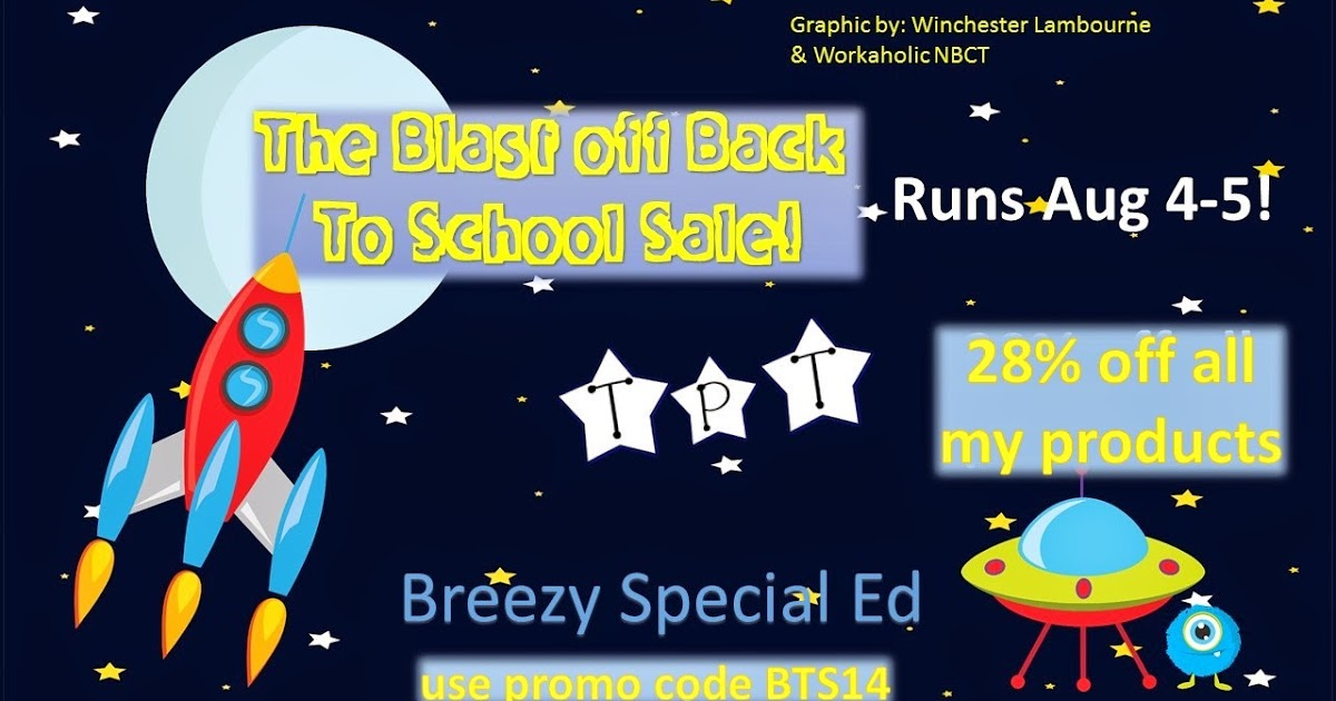 Breezy Special Ed: Back-to-School TpT Sale!!