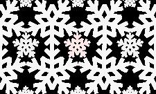 free snow pattern pink - śnieg szare