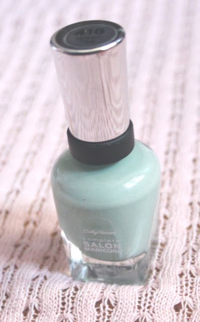 Sally Hansen Green Tea Nail Polish