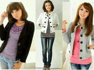 KUMPULAN GAMBAR MODEL BAJU KOREA TERBARU Foto Aneka Baju Fashion Korea Unik Trend Terbaru
