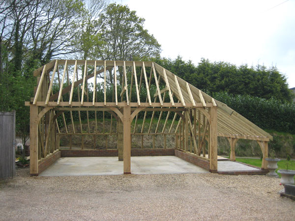 Tunsk useful diy shed frame kit for Garage foundation plans