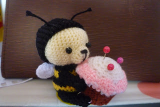 Mini Pincushion Bee Bear Crochet