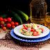 Salada Fresca com Filetes de Cavala