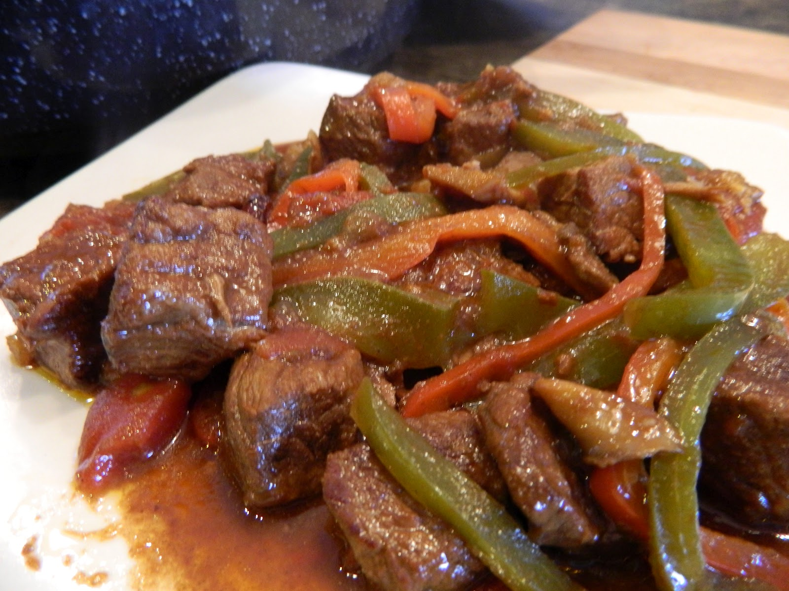 slow cooker pepper steak with slow cooker pepper steak slow cooked ...