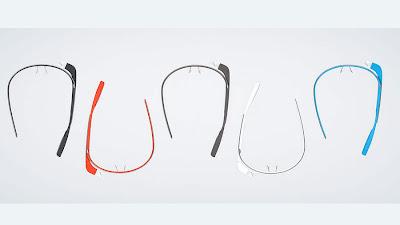 Google Glass Colours