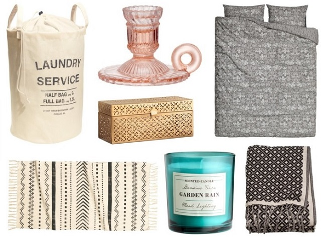 H&M Homeware inspiration wishlist