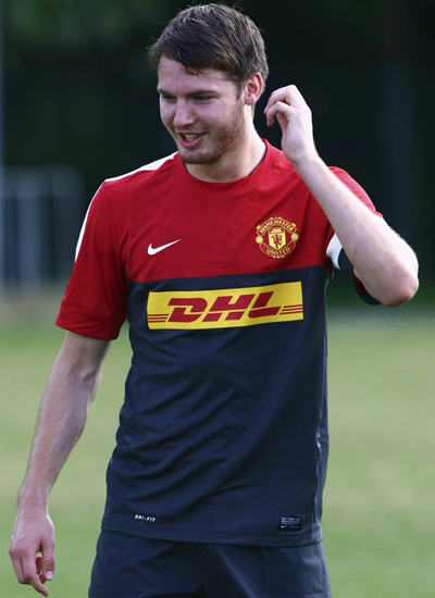 Nick Powell in Training