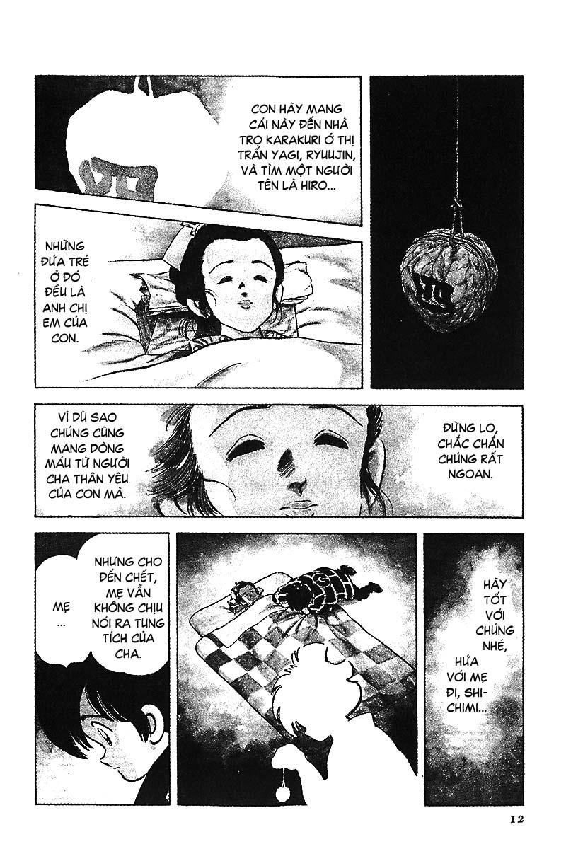 Nijiiro Togarashi - Ớt Bảy Màu chap 1 - Trang 14