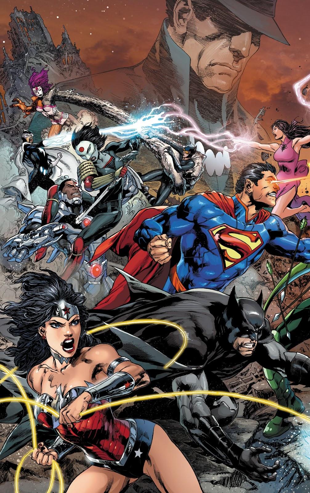 Dc Comics Justice League : Comic frontline trinity war st strike justice league