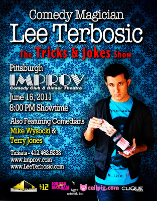 Lee Terbosic, Mike Wysocki, WDVE, Magic, Comedy, Improv, Pittsburgh