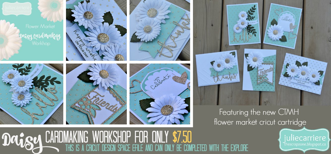 Daisy Cardmaking assembly guide for EXPLORE only