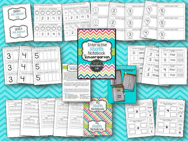 Try it Free Tuesday {interactive math notebook} - Miss Kindergarten