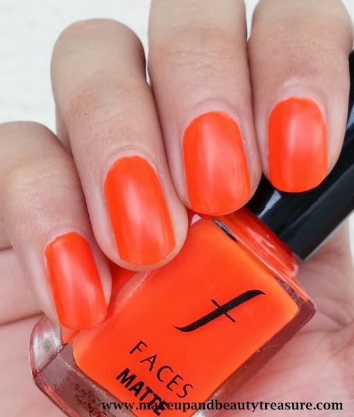Makeup And Beauty Treasure: Faces Cosmetics Matte Nail