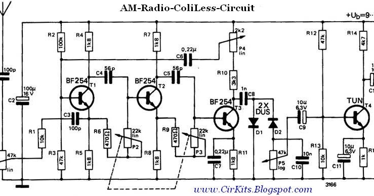 am receiver without coils