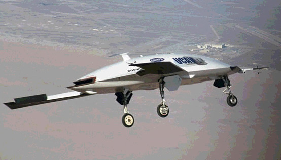 X-45 Unmanned Combat Ariel Vehicle