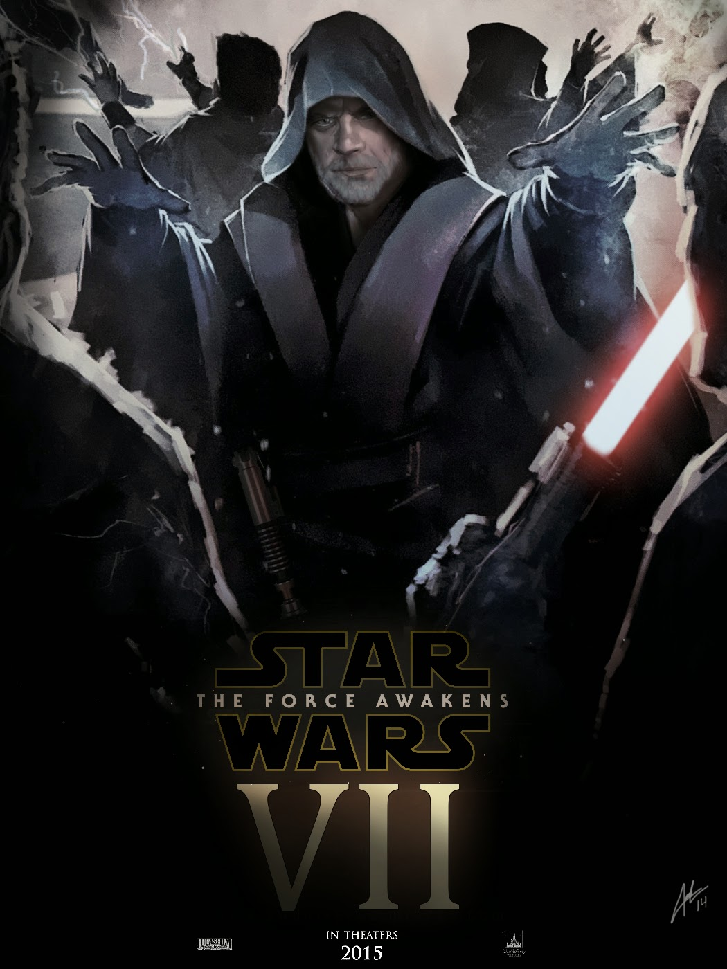 Star Wars VII fan art poster