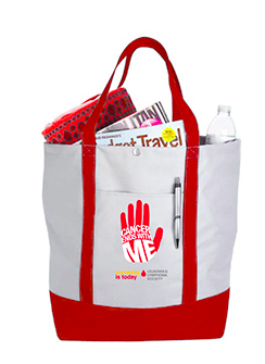 Enter to win a Cancer Ends with Me Tote. Ends 9/14/14.