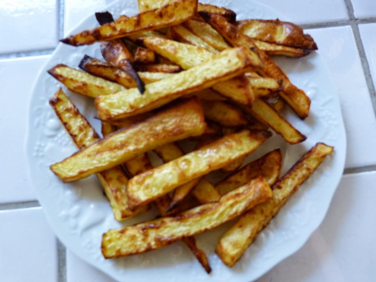 Healthy lucie frites l g res et croustillantes au four - Frites pour friteuse au four ...