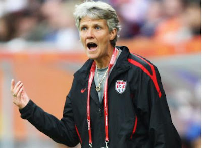 Swede Pia Sundhage U.S Football Coach