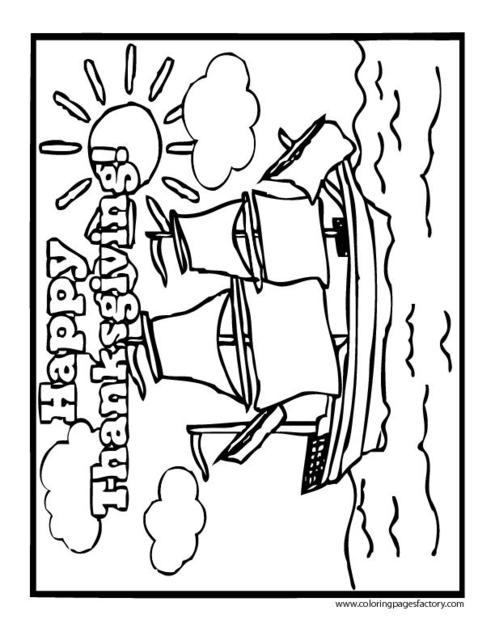 Coloring Page Happy Thanksgiving PrimaryGames - happy thanksgiving coloring pages