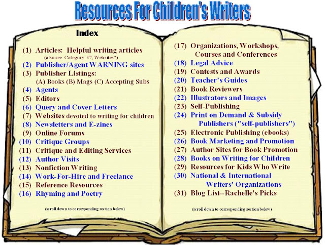 20 Tips for Writing Children's Books