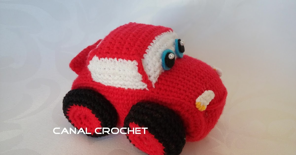 CANAL CROCHET: Mini car amigurumi patrón libre