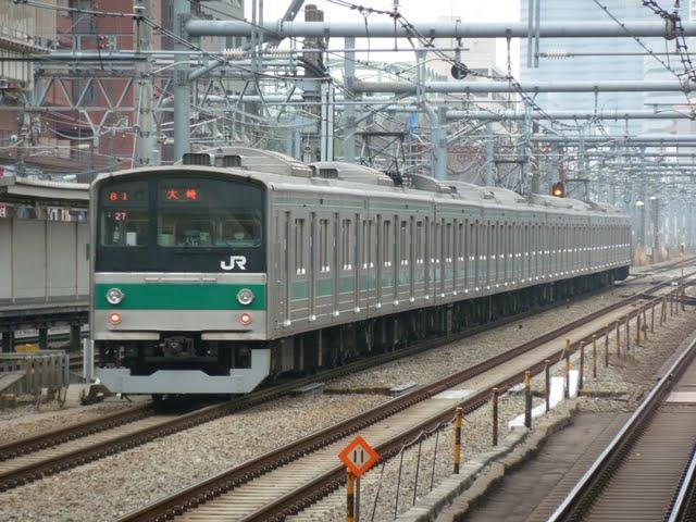埼京線 大崎行き 205系(節電ダイヤに伴う運行)