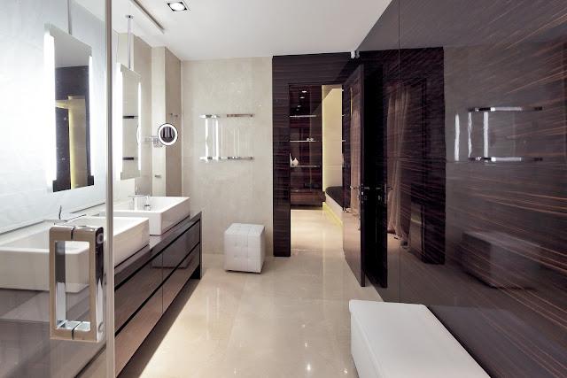 Ванная комната в ЖК Шуваловский