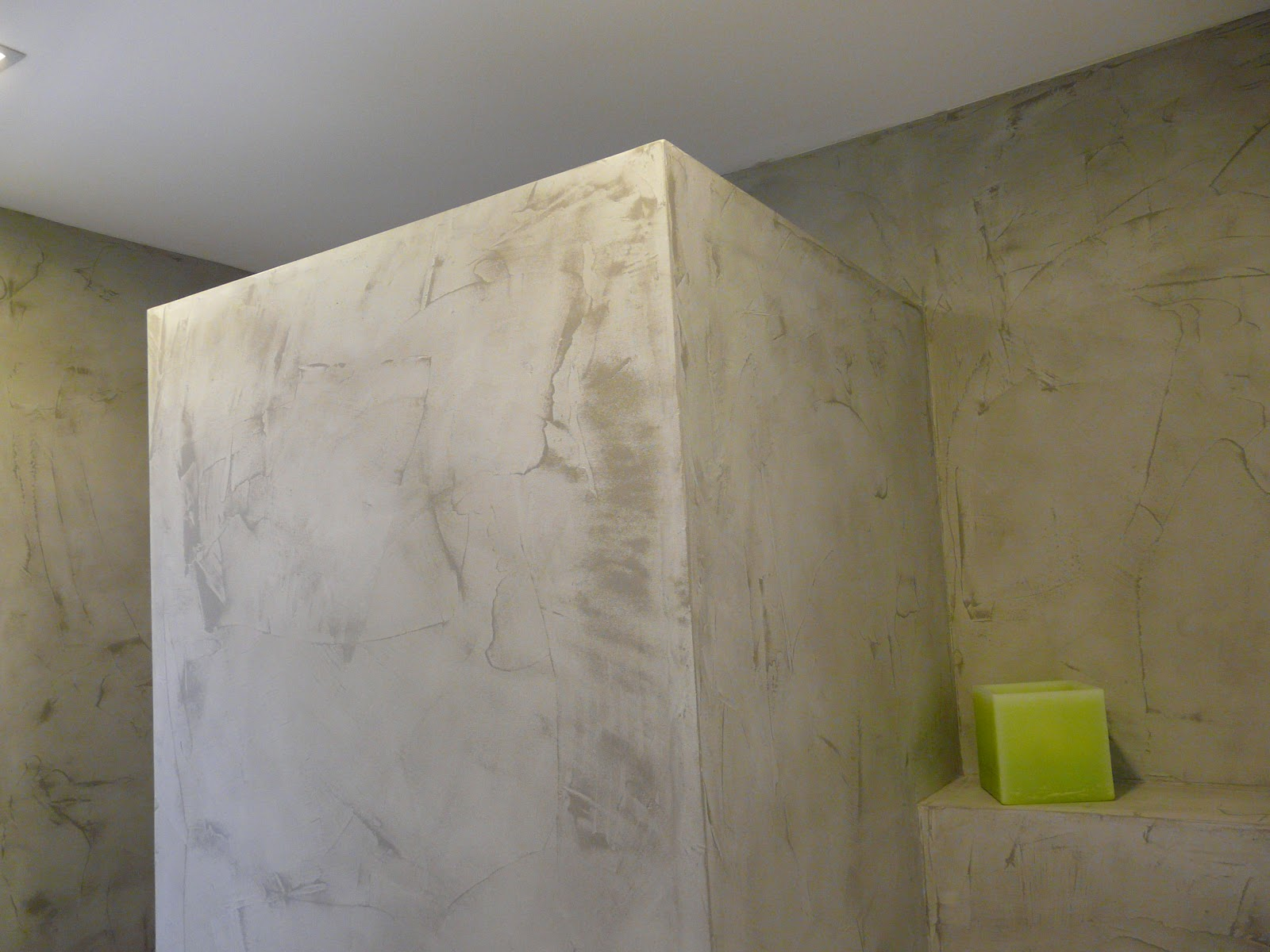 Wand wohndesign beton cire august 2012 - Wand in betonoptik ...