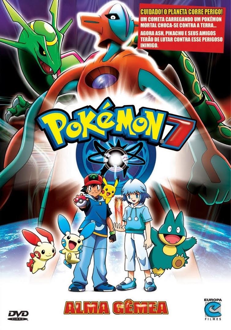 Pokémon 7: Alma Gêmea – Dublado (2004)