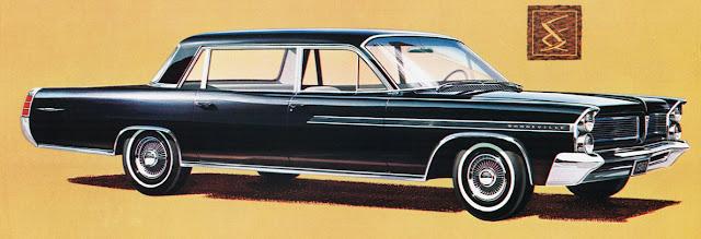 1963 Pontiac Nine Passenger Limousine