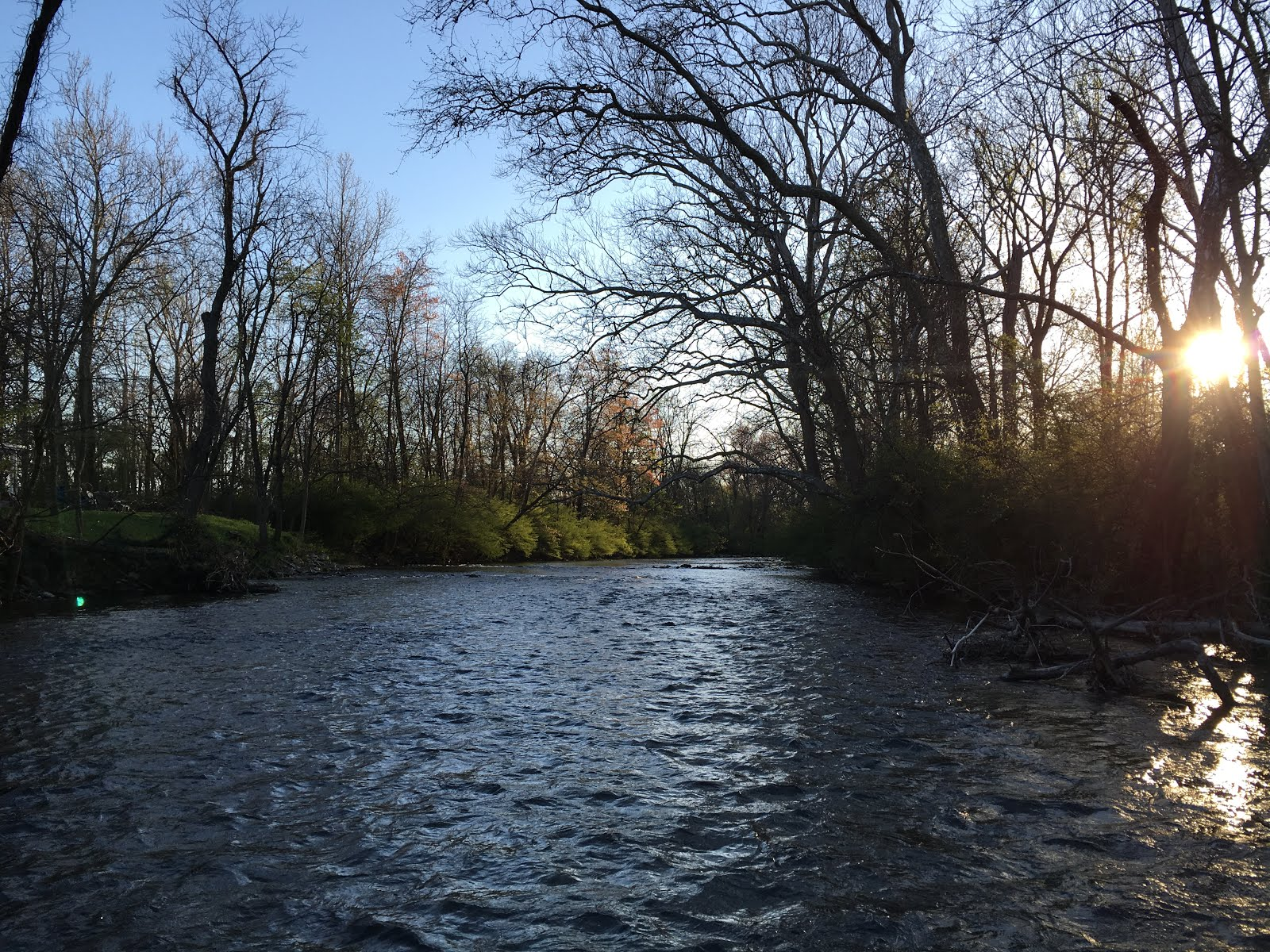 All things fly fishing a few days with clients for Spring creek pa fishing report