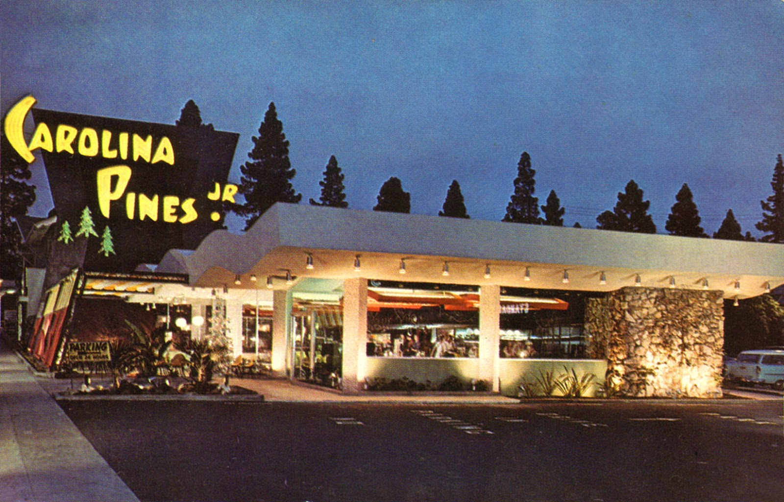 Wonderful color photos of hollywood california in the for Architecture 60s