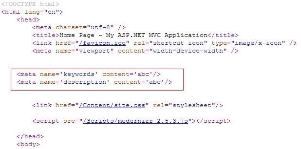 MVC Code