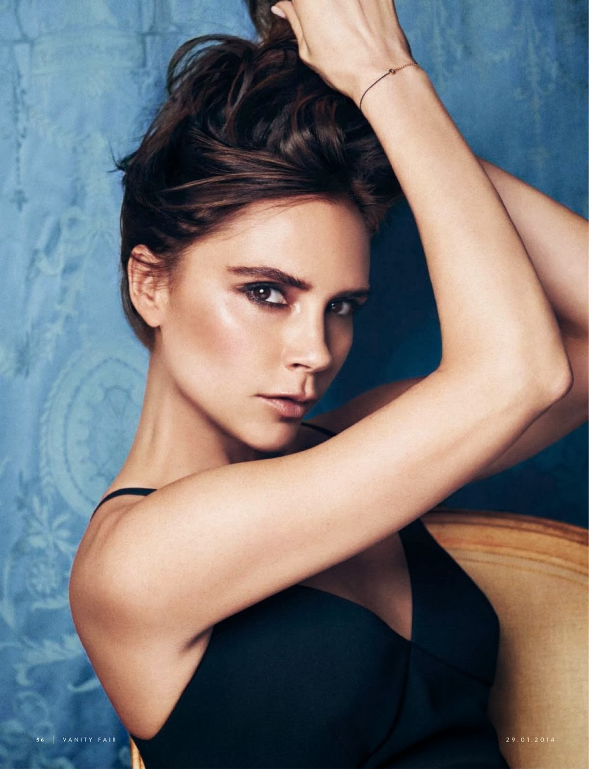 Magazine Photoshoot : Victoria Beckham Photoshot For Vanity Fair Magazine Italy January 2014 Issue