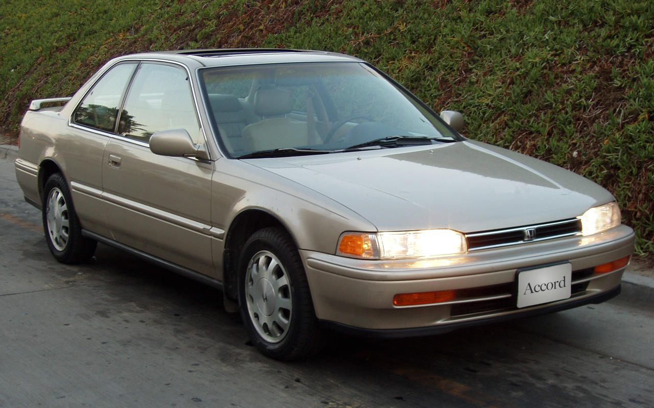 Honda Accord Se 1993 10th Anniversary Edition Accord In